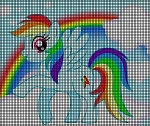 Rainbow Dash Crochet Pattern