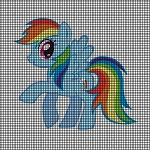 Rainbow Friendship Pony Crochet Pattern
