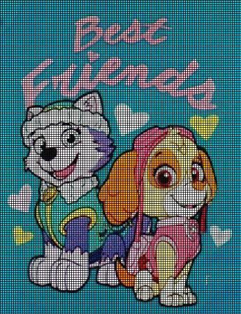 Best Friends Crochet Pattern