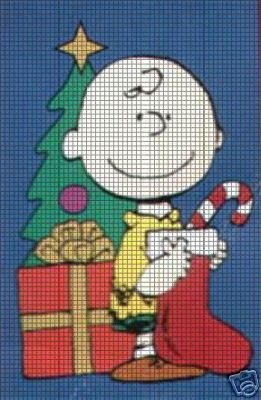 Chuck Loves Christmas Crochet Pattern