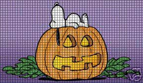 Snoopy Halloween Nap Crochet Pattern