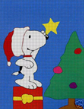 Snoopy Places The Star Crochet Pattern