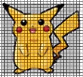 Pikachu 2 Crochet Pattern