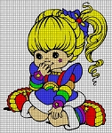 Rainbow Brite Sitting Crochet Pattern
