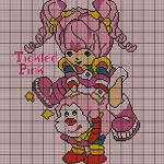 Rainbow Brite Tickled Pink Crochet Pattern