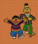 Bert & Ernie Run Crochet Pattern