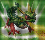 Skylanders Camo The Dragon Crochet Pattern
