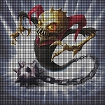 Skylanders Ghost Roaster Crochet Pattern