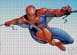 Spiderman In Action Crochet Pattern