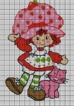 Strawberry Shortcake & Kitty Crochet Pattern