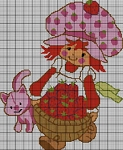 Strawberry Shortcake Basket Crochet Pattern