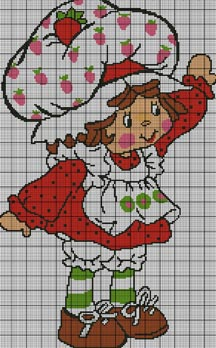 Strawberry Shortcake Wave Crochet Pattern