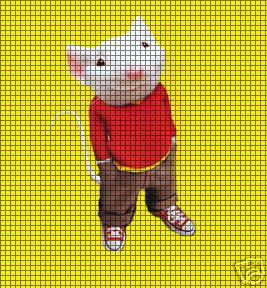 Stuart Little Standing Crochet Pattern