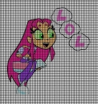 Starfire LOL Crochet Pattern