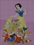 Snow White & The Dwarfs Crochet Pattern