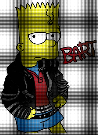 Bart Crochet Pattern