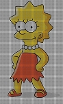 Lisa Simpson Crochet Pattern