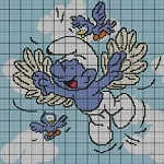 Flying Around Crochet Pattern
