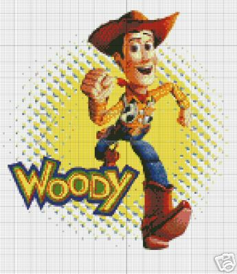 Toy Story Woody Crochet Pattern