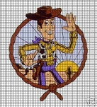 Woody Portrait Crochet Pattern