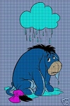 Raining On Eeyore Crochet Pattern