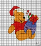 Christmas Honey Pot Pooh Crochet Pattern