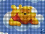 Pooh Bear In The Clouds Crochet Pattern