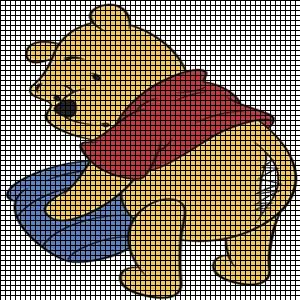 Pooh Eats Too Much Crochet Pattern