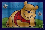 Pooh Laying Down Crochet Pattern