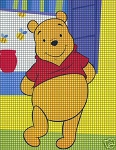 Pooh's Colorful Room Crochet Pattern