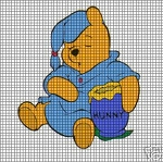 Sleeping Pooh Bear Crochet Pattern