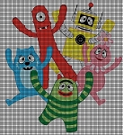 Yo Gabba Gabba Friends Crochet Pattern