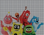 Yo Gabba Gabba Group Crochet Pattern
