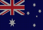 Australia Flag Crochet Pattern