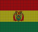 Bolivia Flag Crochet Pattern
