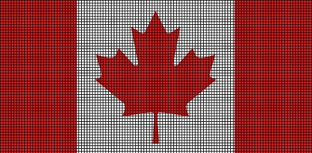 Military Vehicles For Sale Canada >> Canada Flag Crochet Pattern