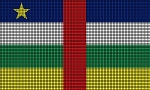 Central African Republic Flag Crochet Pattern