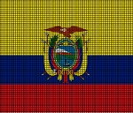 Ecuador Flag Crochet Pattern