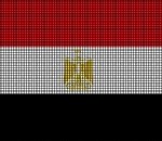 Egypt Flag Crochet Pattern