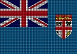 Fiji Flag Crochet Pattern