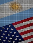 Argentina - USA Flag Crochet Pattern