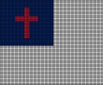 Christian Flag Crochet Pattern
