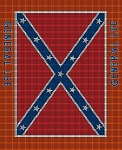 General Lee Flag Crochet Pattern