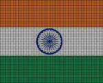 India Flag Crochet Pattern