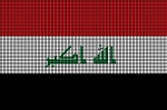 Iraq Flag Crochet Pattern