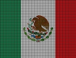 Mexico Flag Crochet Pattern