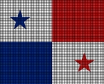Panama Flag Crochet Pattern