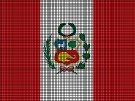 Peru Flag Crochet Pattern