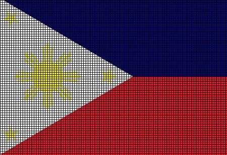 Philippines Flag Crochet Pattern