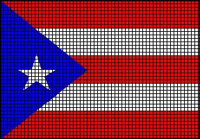 Puerto Rico Flag Crochet Pattern
